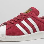superstar 80s suede burgundy