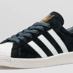 superstar 80s suede black