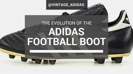 f677d76a2 The evolution of the Adidas football boot
